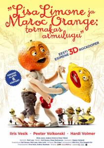 Lisa Limone and Maroc Orange_Poster