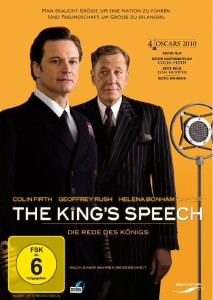 The Kings Speech_DVD