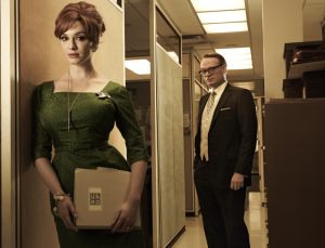 Mad Men 5_Lane und Joan