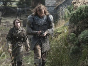 Game Of Thrones 4_Arya und Bluthund