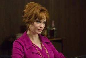Christina Hendricks as Joan Harris - Mad Men _ Season 7B, Episode 8 - Photo Credit: Michael Yarish/AMC