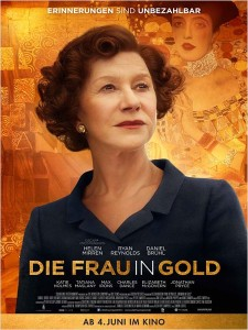 Frau in Gold_Poster