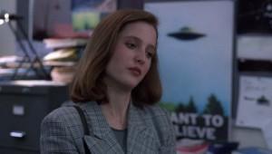 Akte X_1_Scully und das Poster